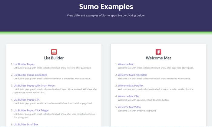 SUMO tools
