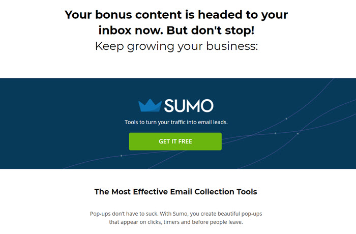 sumo bonus content