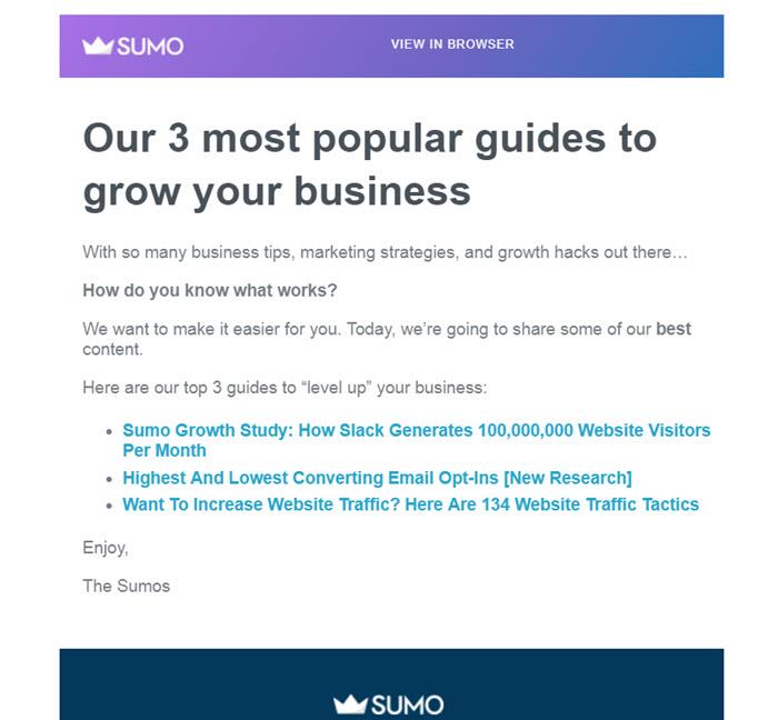 sumo popular guides