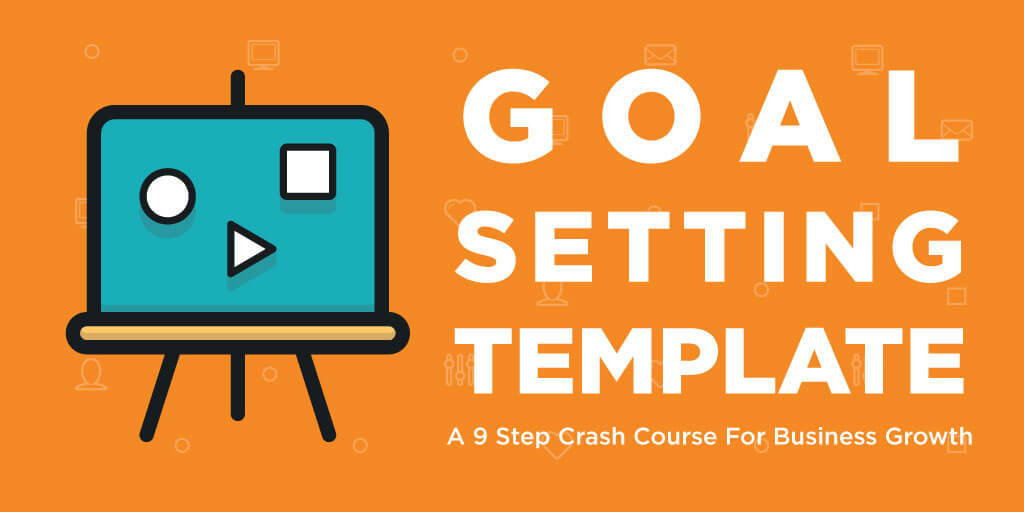Goal setting template business growth flashek Image collections