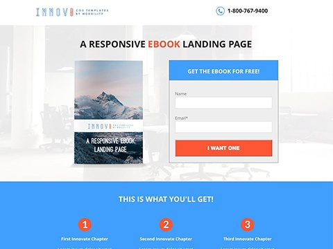 Innovate Landing Page Kit | HubSpot